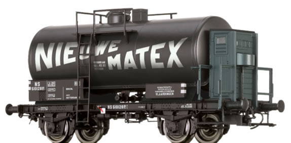 Brawa 49228 - Dutch Tank Car Z[P] Nieuwe Matex of the NS
