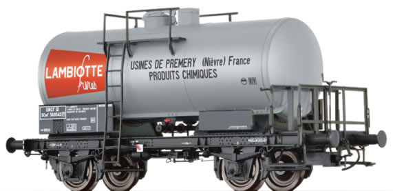 Brawa 49229 - French Tank Car SCwf Lambiotte of the SNCF