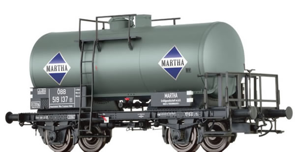 Brawa 49244 - Tank Car 2-axle Z [P] MARTHA