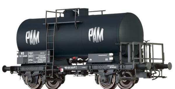 Brawa 49246 - Tank Car 2-axle Z [P] PAM