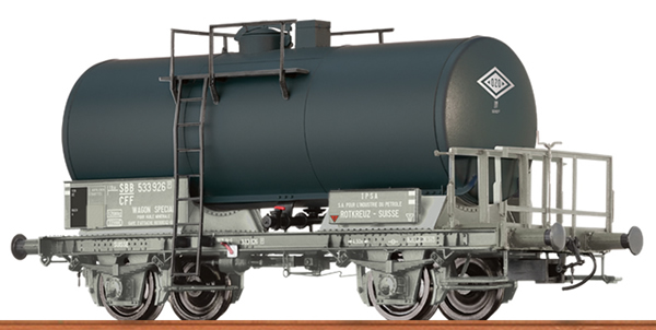 Brawa 49252 - Swiss Tank Car Z ROTKREUZ of the SBB