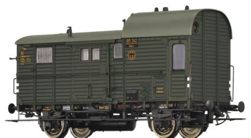 Brawa 49401 - German Luggage Car Pwg pr14 of the DRG