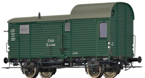 Brawa 49406 - Czechoslovakian Luggage Car D of the CSD