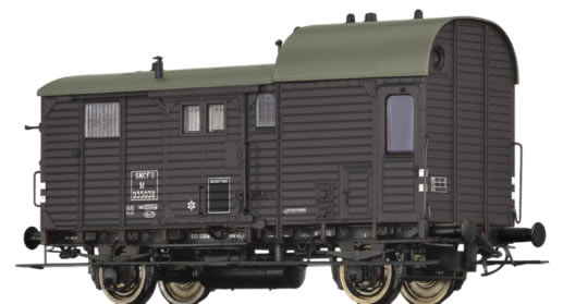 Brawa 49409 - French Luggage Car M of the SNCF