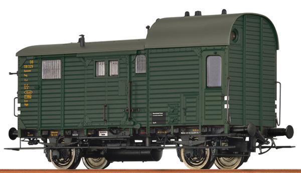 Brawa 49415 - German Caboose PWG 14 of the DB