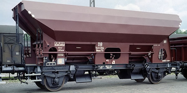 Brawa 49500 - German 3 Piece Open Freight Car Set Otmm 70 of the DB