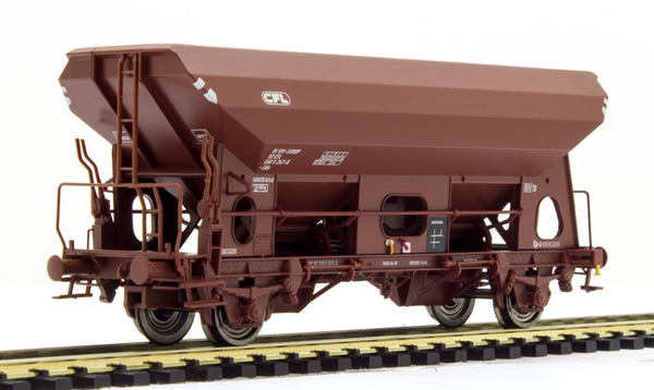 Brawa 49507 - Luxembourgish Open Goods Car Eds of the CFL
