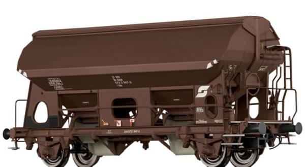 Brawa 49513 - Covered Freight Car Tds