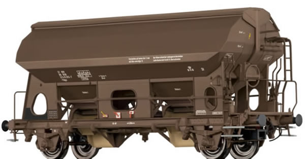 Brawa 49515 - Covered Freight Car Uds-v