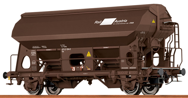 Brawa 49529 - Austrian Closed Hopper TDS of the OBB