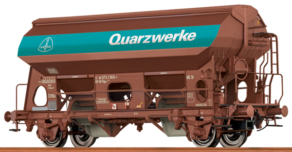 Brawa 49530 - German Closed Hopper TDS Quarzwerke of the DB