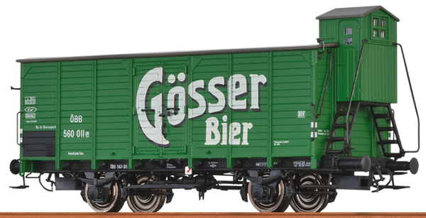 Brawa 49705 - Austrian Beer Car G10 of the BBO