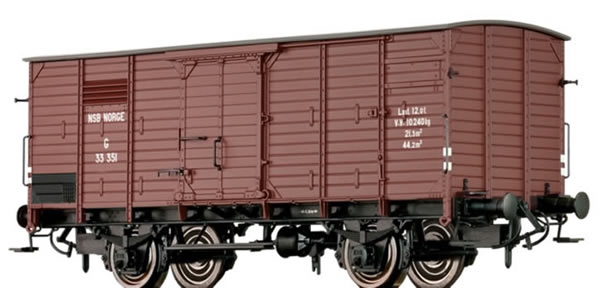 Brawa 49717 - Covered Freight Car G