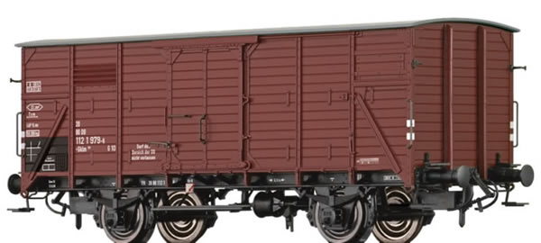 Brawa 49719 - Covered Freight Car Gklm 191