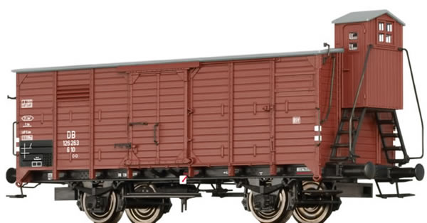 Brawa 49721 - Covered Freight Car G10