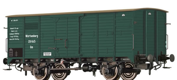 Brawa 49722 - Covered Freight Car Gm