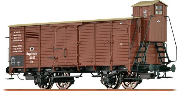 Brawa 49723 - German Box Car w. Brakemans Cab of the K.P.E.V.
