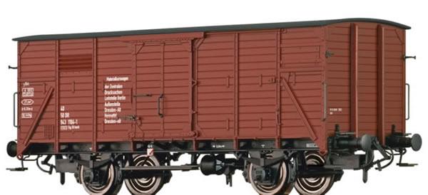 Brawa 49725 - Covered Freight Car 1121 Materialkurswagen