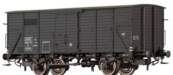 Brawa 49726 - Covered Freight Car Kf2