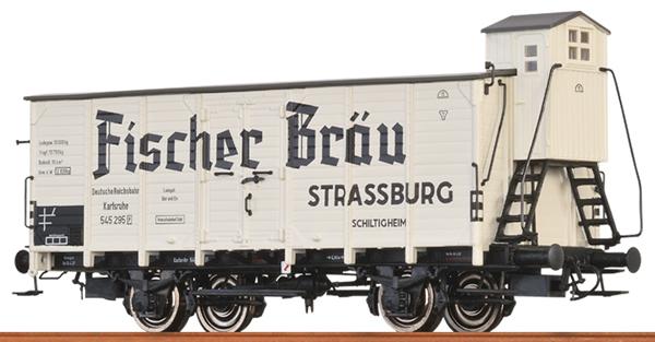 Brawa 49728 - German Beer Car FISCHER BRÄU of the DRG