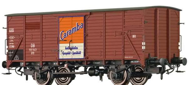 Brawa 49729 - Covered Freight Car G10 Caramba Öl