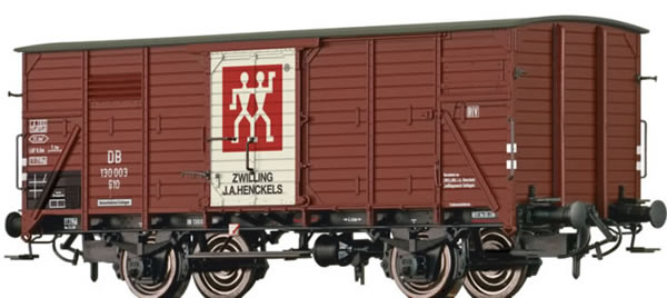Brawa 49740 - Covered Freight Car G10 Zwilling
