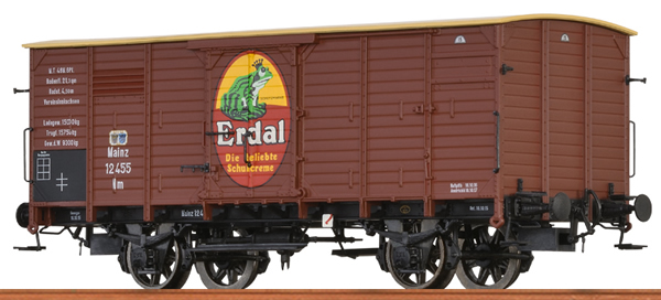 Brawa 49742 - German Box Car NM ERDAL of the KPEV