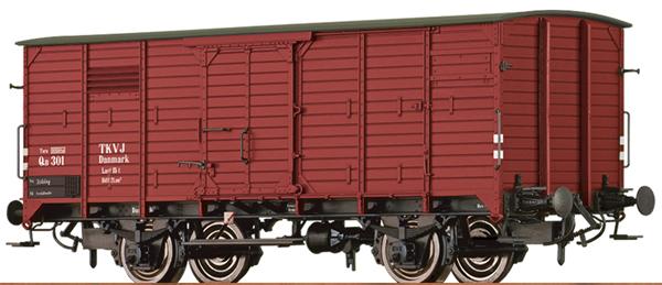 Brawa 49759 - Norwegian Box Car QB of the TKVJ