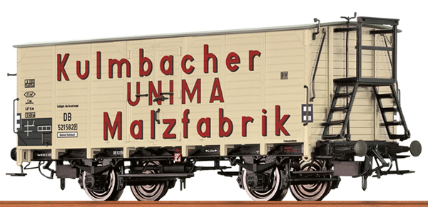 Brawa 49766 - German Box Car UNIMA MALZ of the DB