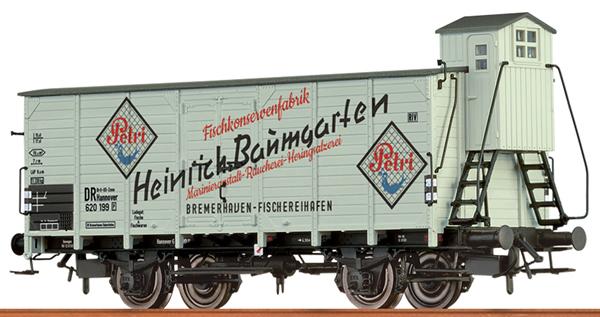 Brawa 49767 - German Reefer Car HEINRICH BAUMGARTEN of the DB