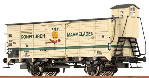Brawa 49769 - German Box Car G 10 ZENTIS of the DB