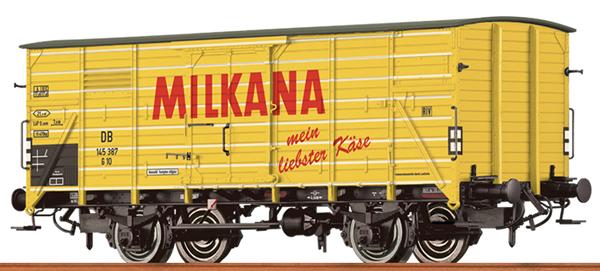 Brawa 49771 - German Box Car MILKANA of the DB