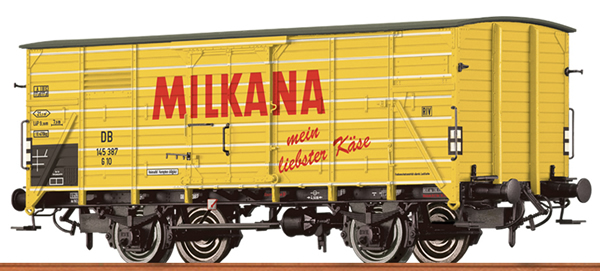 Brawa 49771 - German Box Car MILKANA of the DB