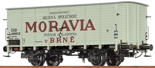 Brawa 49777 - Czechoslovakian Covered Freight Car MORAVIA of the CSD