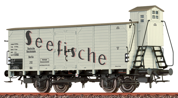 Brawa 49796 - Refrigerator Car Gkh Fischwag