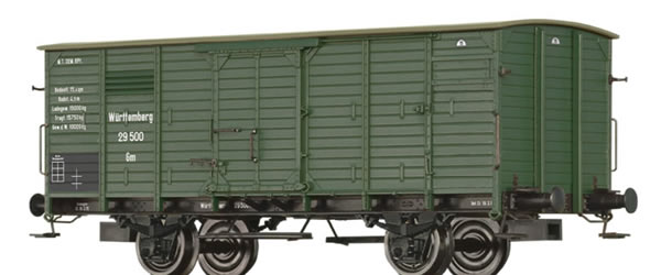Brawa 49824 - Covered Freight Car Gm