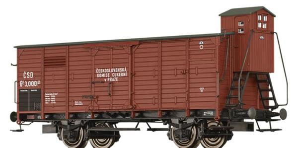 Brawa 49839 - Covered Freight Car Go eskoslovenska Komise Cukerni v Praze