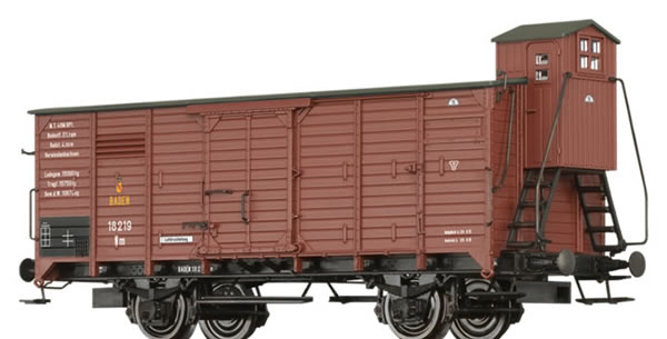 Brawa 49852 - Covered Freight Car Nm BadStB