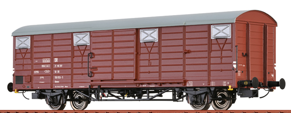 Brawa 49900 - German Covered Freight Car GLMMS of the DR