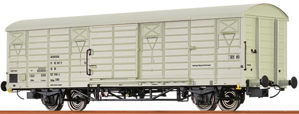 Brawa 49902 - German Covered Freight Car INTERFRIGO KÜHLWAGEN of the DR