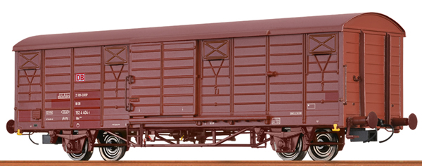 Brawa 49903 - German Covered Freight Car GBS 258 of the DB AG