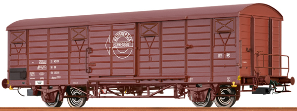 Brawa 49905 - German Covered Freight Car EXPRESSGUTWAGEN of the DR
