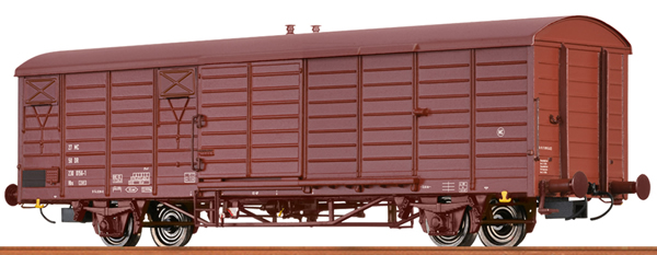 Brawa 49906 - German Covered Freight Car HBS 2301 Crew Car of the DR