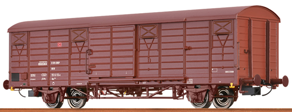 Brawa 49907 - German Covered Freight Car GBS 258 of the DB AG