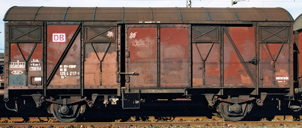 Brawa 50105 - Freight Car Gs 212 EUROP