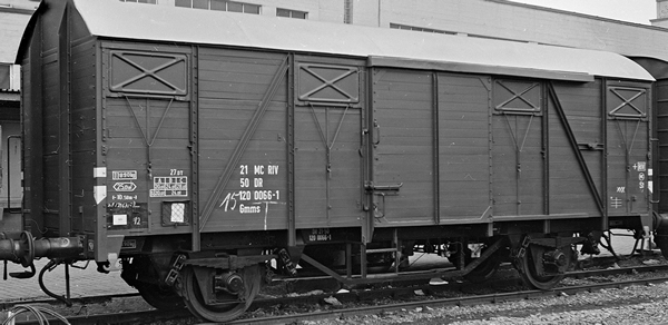 Brawa 50107 - Freight Car Gmms [14.02]  MC R