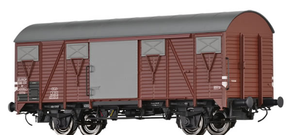 Brawa 50120 - Swiss Covered Freight Car K4 EUROP