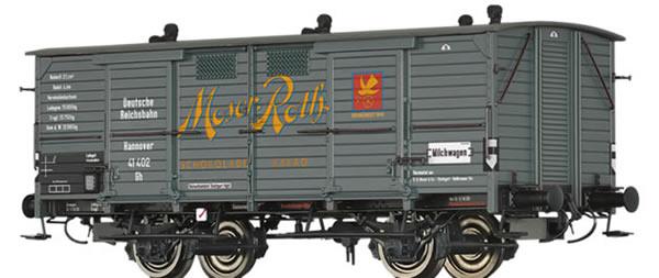 Brawa 50350 - German Covered Freight Car Gh Moser-Roth Schokolade