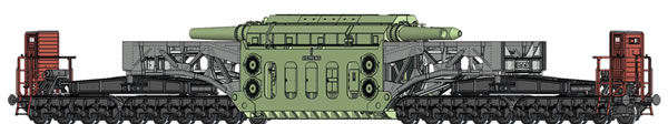 Brawa 50506 - German Heavy Duty Freight Car SSt 125 RWE