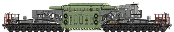 Brawa 50508 - German Heavy Duty Freight Car SSt 125 RWE